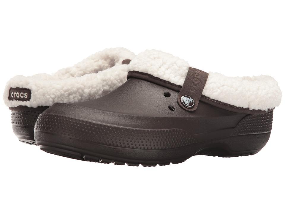 Crocs - Classic Blitzen II Clog (Espresso/Oatmeal) Clog Shoes