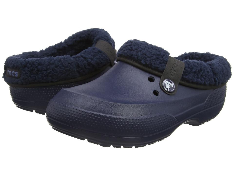 Crocs - Classic Blitzen II Clog (Navy/Navy) Clog Shoes