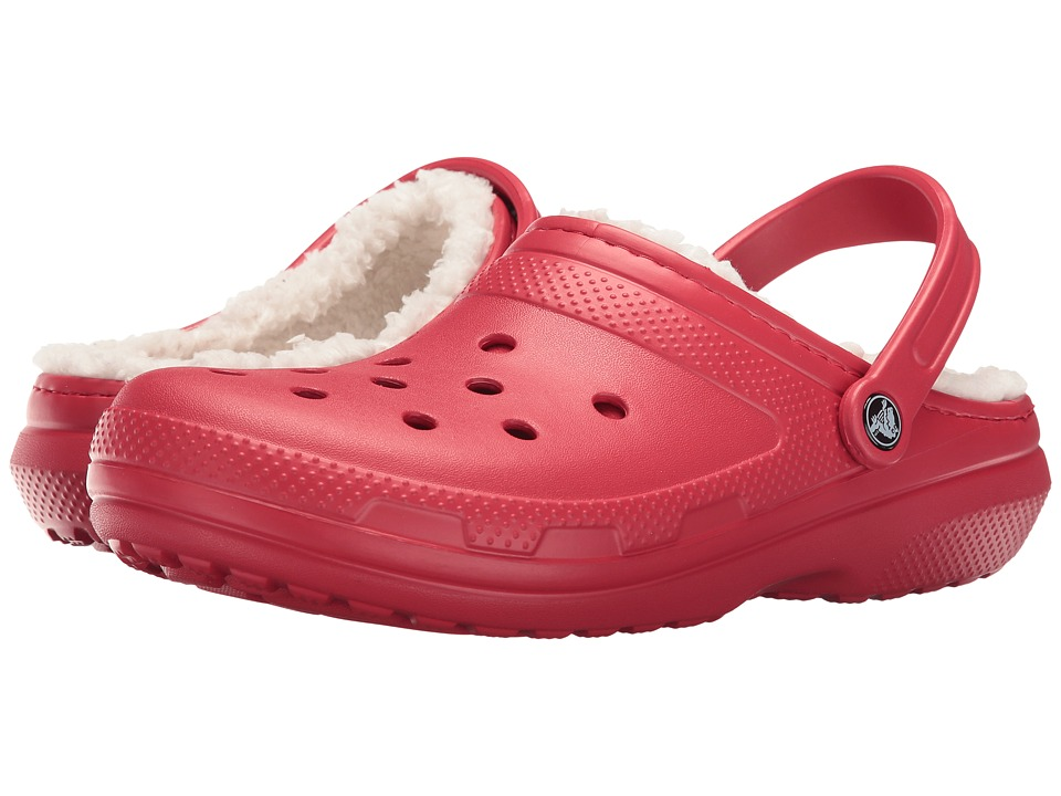 Crocs Classic Lined Clog (Pepper/Oatmeal) Clog Shoes