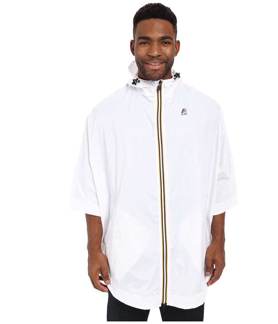 K-WAY - Morgan 3.0 (White) Men's Coat