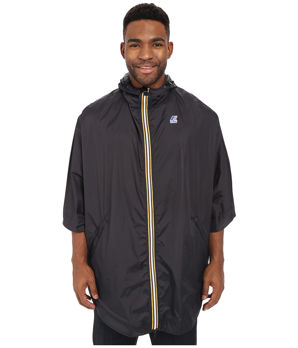 K-WAY - Morgan 3.0 (Black) Men's Coat
