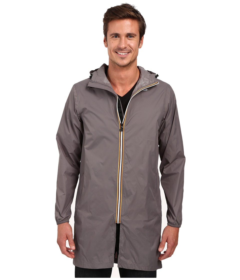 K-WAY - Eiffel 3.0 (Smoke) Men's Clothing