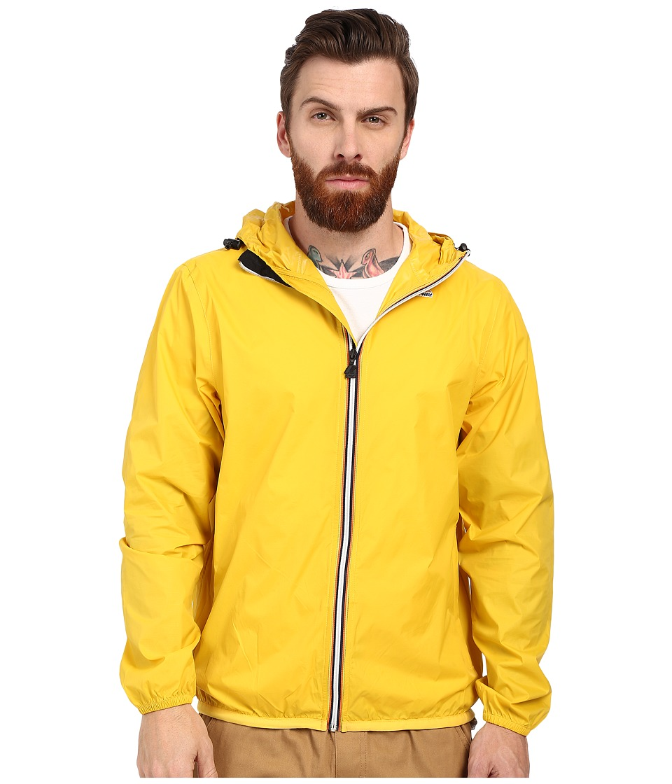 K-WAY - Le Vrai Claude 3.0 (Yellow) Men's Coat