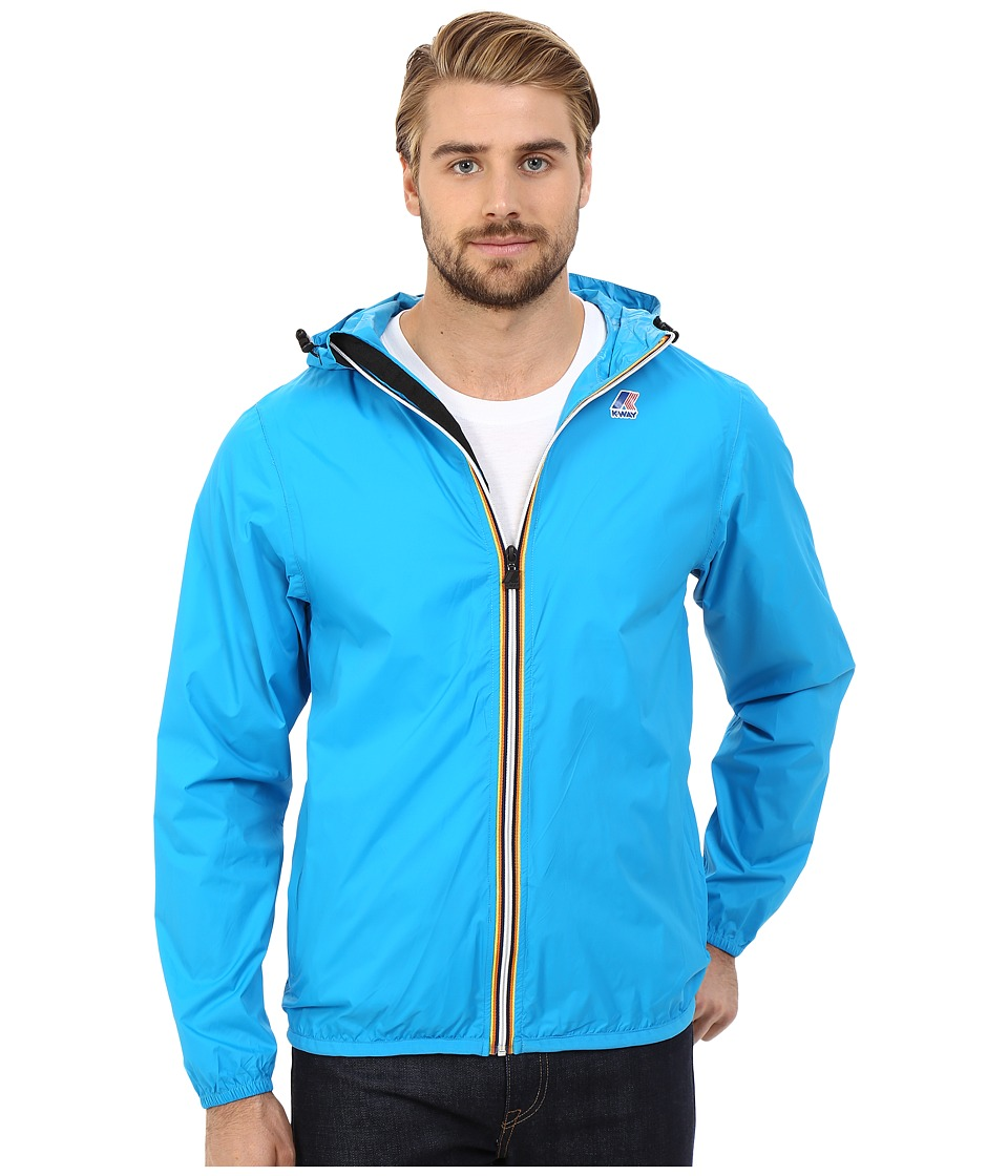 K-WAY - Le Vrai Claude 3.0 (Blue Cali) Men's Coat