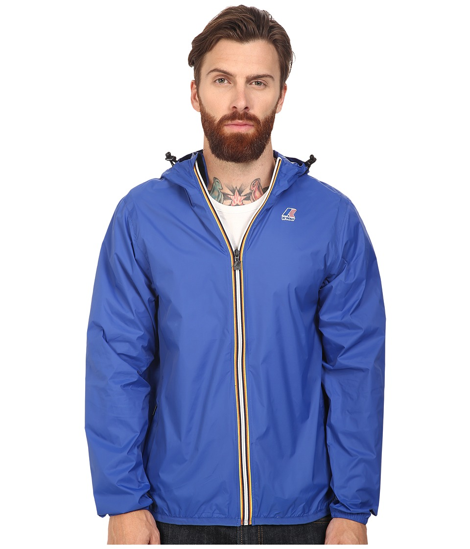 K-WAY - Le Vrai Claude 3.0 (Royal Blue) Men's Coat