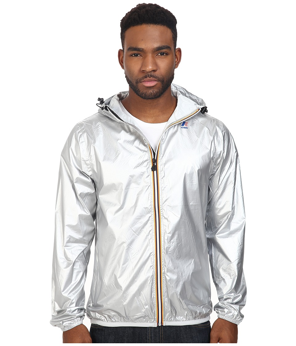 K-WAY - Le Vrai Claude 3.0 (Silver) Men's Coat