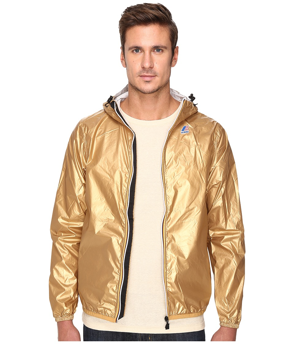 K-WAY - Le Vrai Claude 3.0 (Gold) Men's Coat