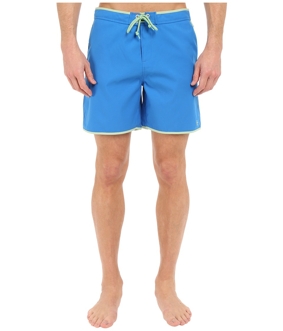 Original Penguin - Earl Fixed Volley Swim Shorts (Directoire Blue) Men's Swimwear