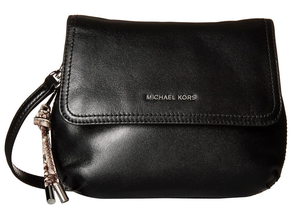 MICHAEL Michael Kors - Isabel Sm Messenger (Black) Messenger Bags