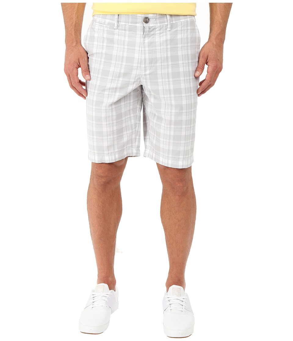 Original Penguin - Large Plaid Shorts (High Rise) Men's Shorts