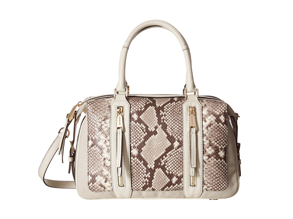 MICHAEL Michael Kors - Julia Lg Satchel (Ecru) Satchel Handbags