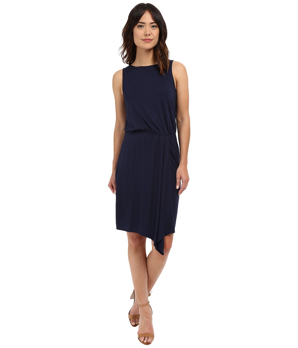 Three Dots Colleen Sleeveless Dress (Night Iris) Women