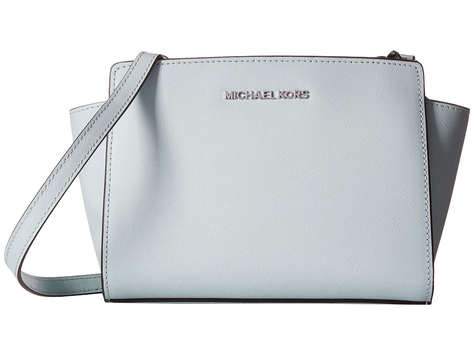 MICHAEL Michael Kors - Selma Medium Messenger (Celadon) Cross Body Handbags