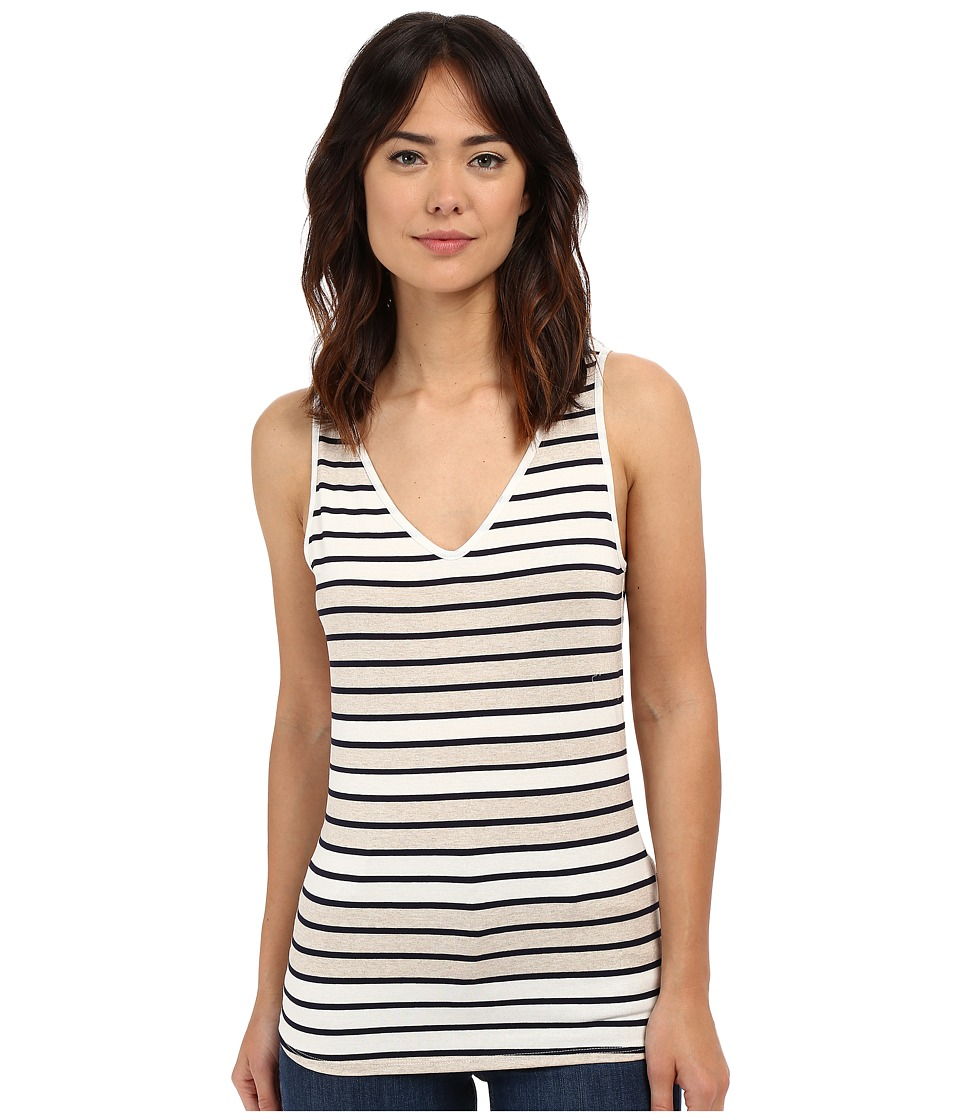 Three Dots - Dimitra Reversible Tank Top (Natural) Women's Sleeveless