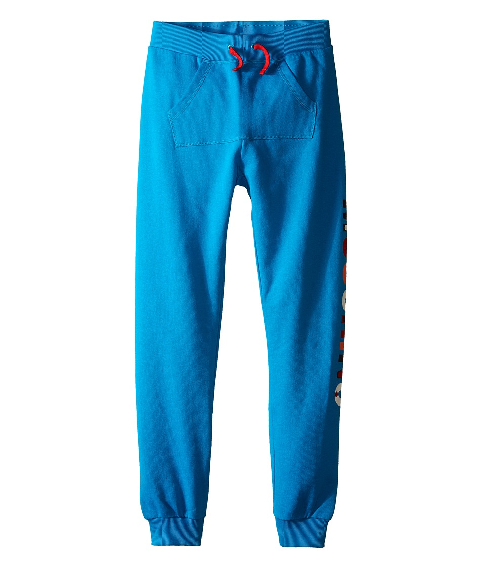 Moschino Kids - Sweatpants w/ Logo on the Side (Big Kids) (Blue) Boy's Casual Pants