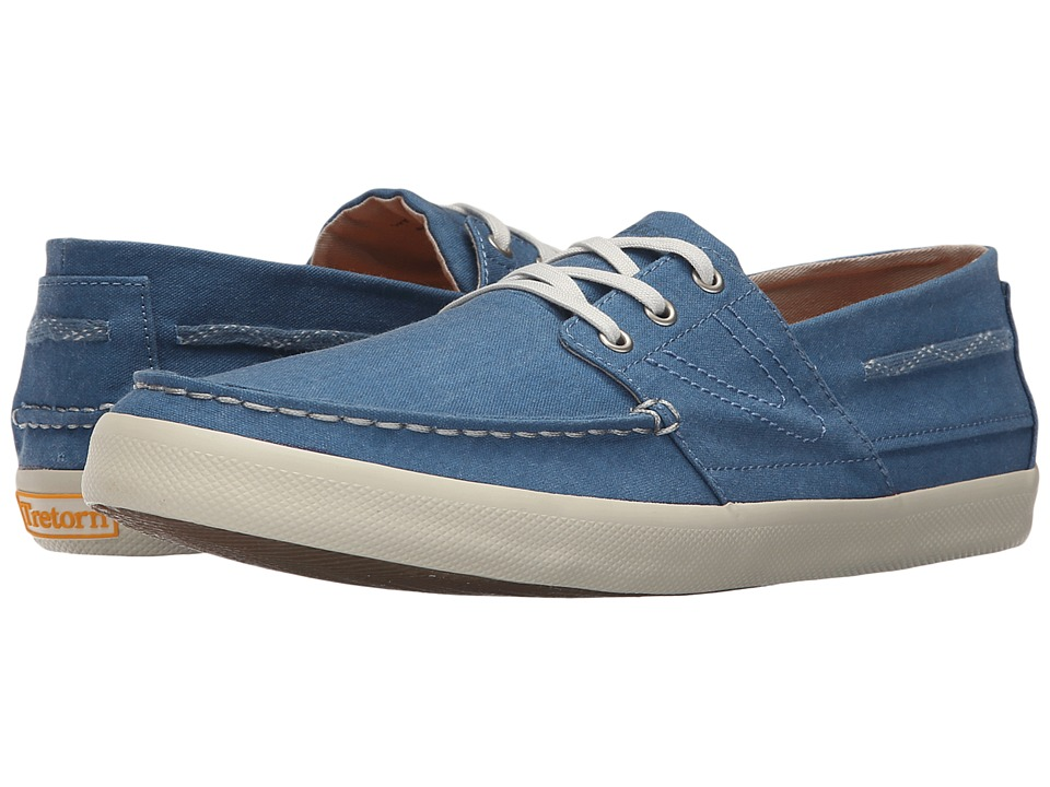 Tretorn - Otto Washed Canvas (Moroccan Blue) Men's Shoes