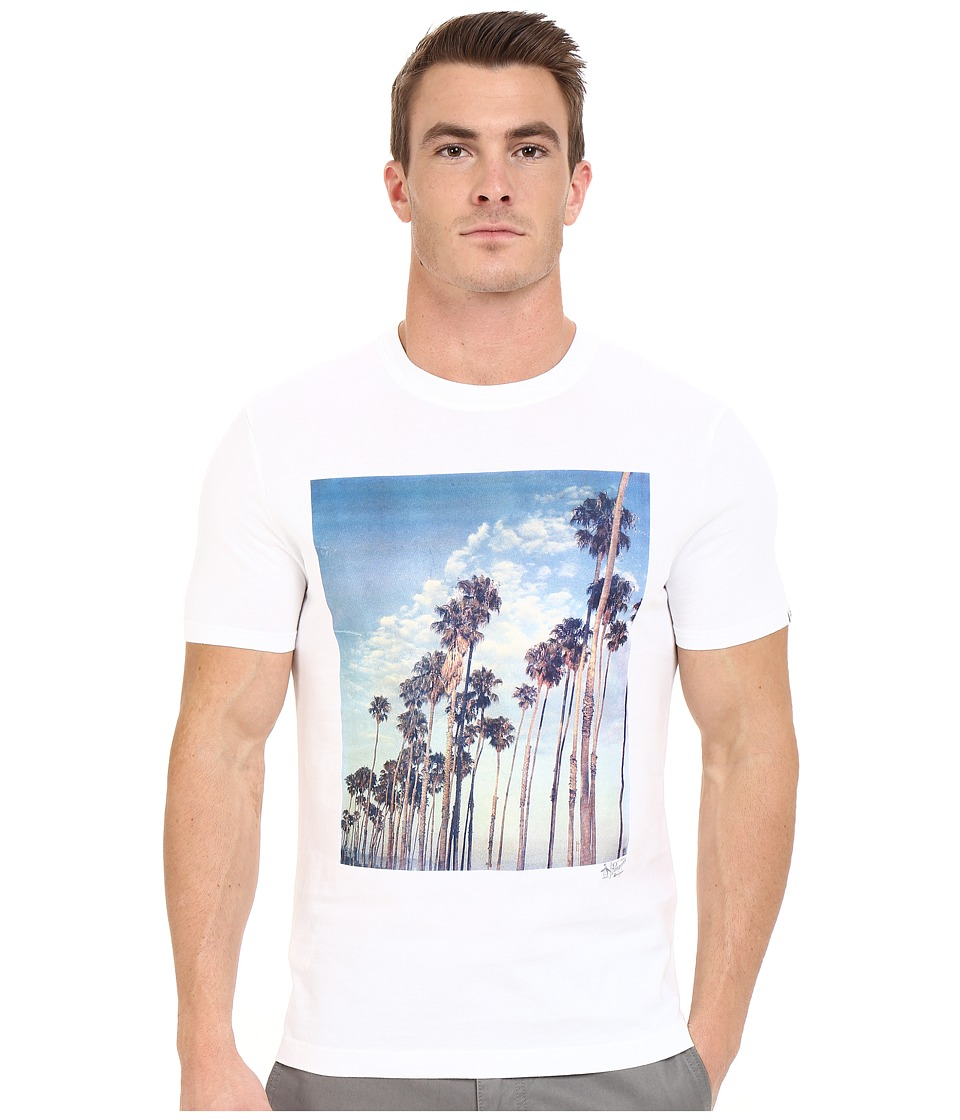 Original Penguin - Palm Drive Photographic Tee (Bright White) Men's T Shirt