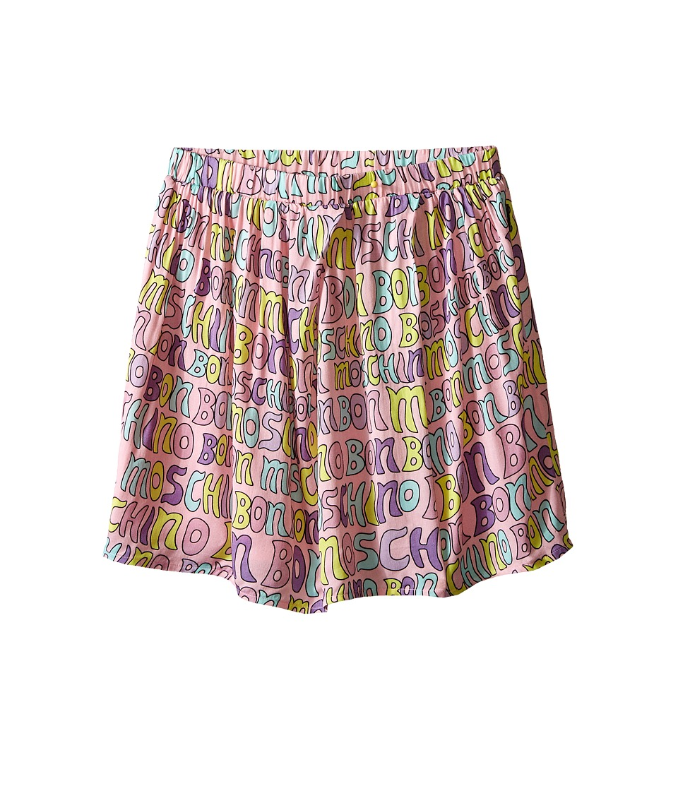 Moschino Kids - Printed Skirt (Big Kids) (Pink) Girl's Skirt