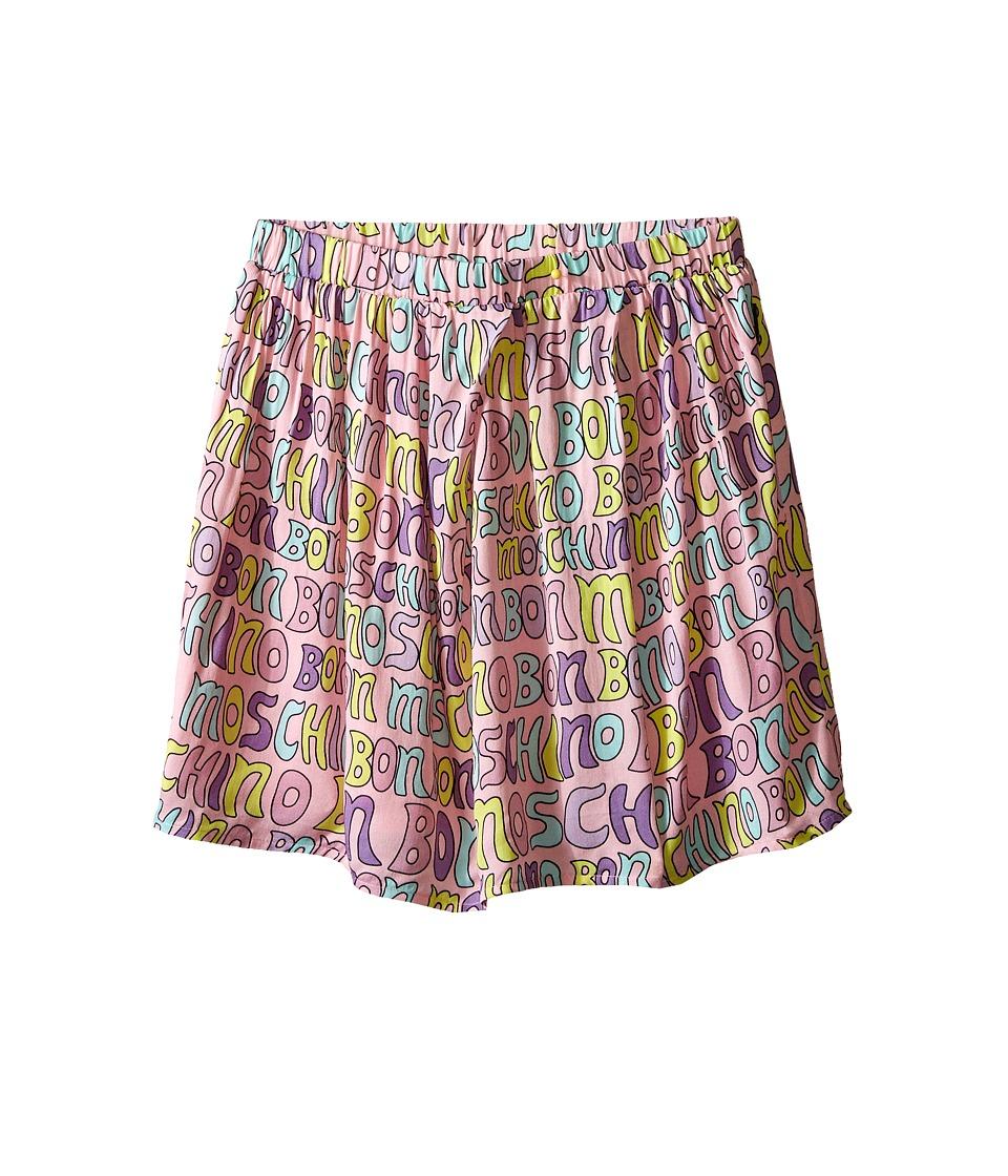 Moschino Kids - Printed Skirt (Big Kids) (Pink) Girl's Skirt