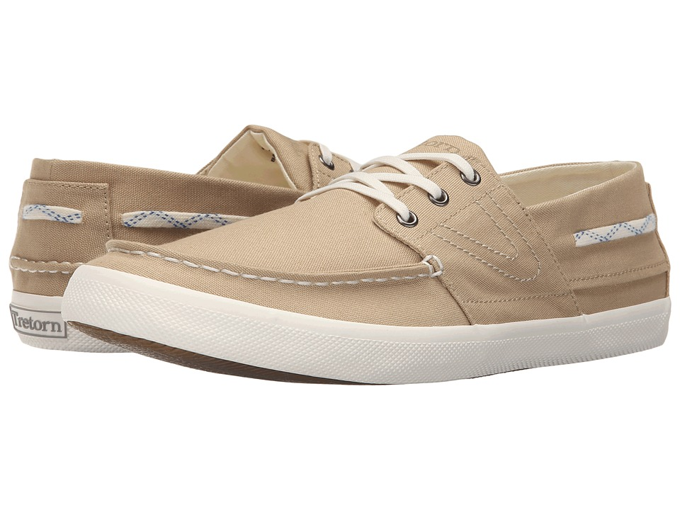 Tretorn - Otto Canvas (Safari Beige) Men's Shoes