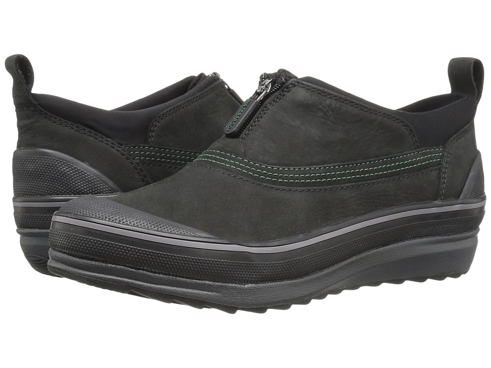 Clarks - Muckers Ruck (Black Nubuck) Women's Lace up casual Shoes