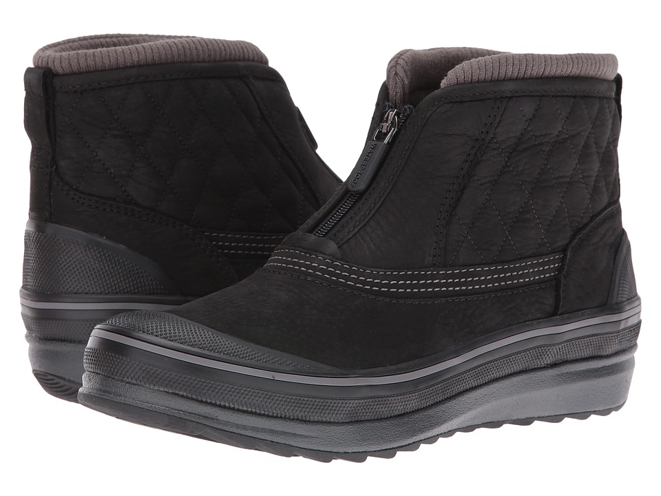 Clarks - Muckers Swale (Black Nubuck) Women's Lace up casual Shoes