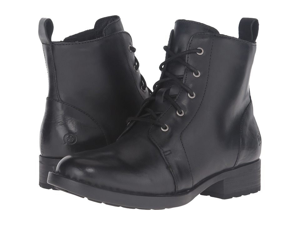Born - Troye (Black Full Grain Leather) Women's Boots