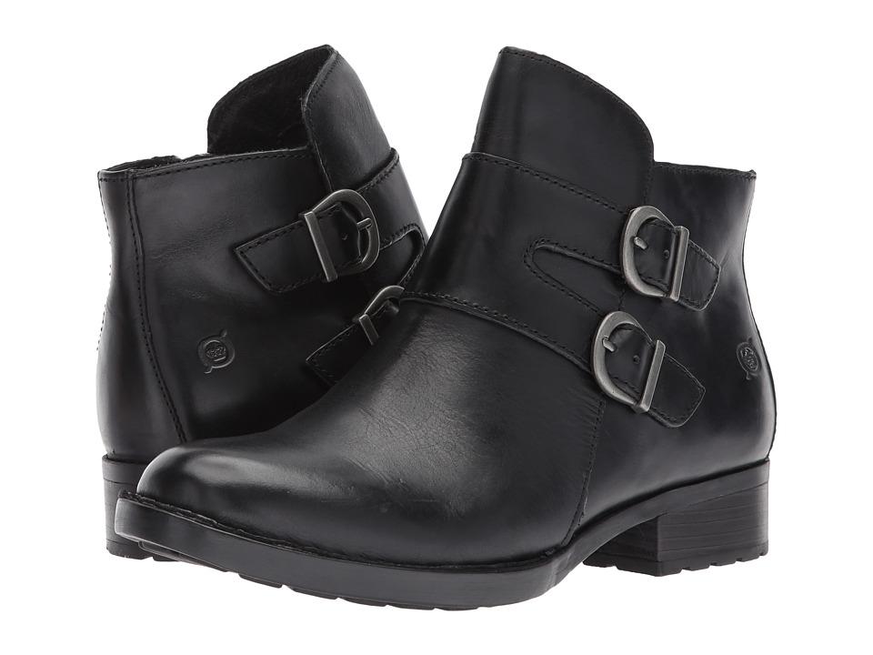 Born - Adler (Black Full Grain Leather) Women's Boots