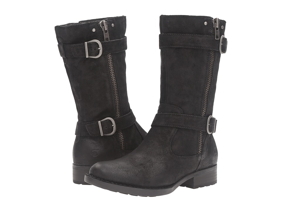 Born - Erie (Black Distressed) Women's Boots