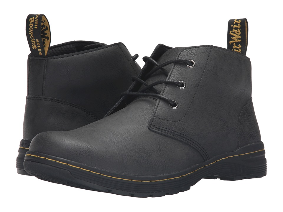 Dr. Martens - Emil 3-Eye Chukka (Black Vancouver Split) Men's Lace-up Boots
