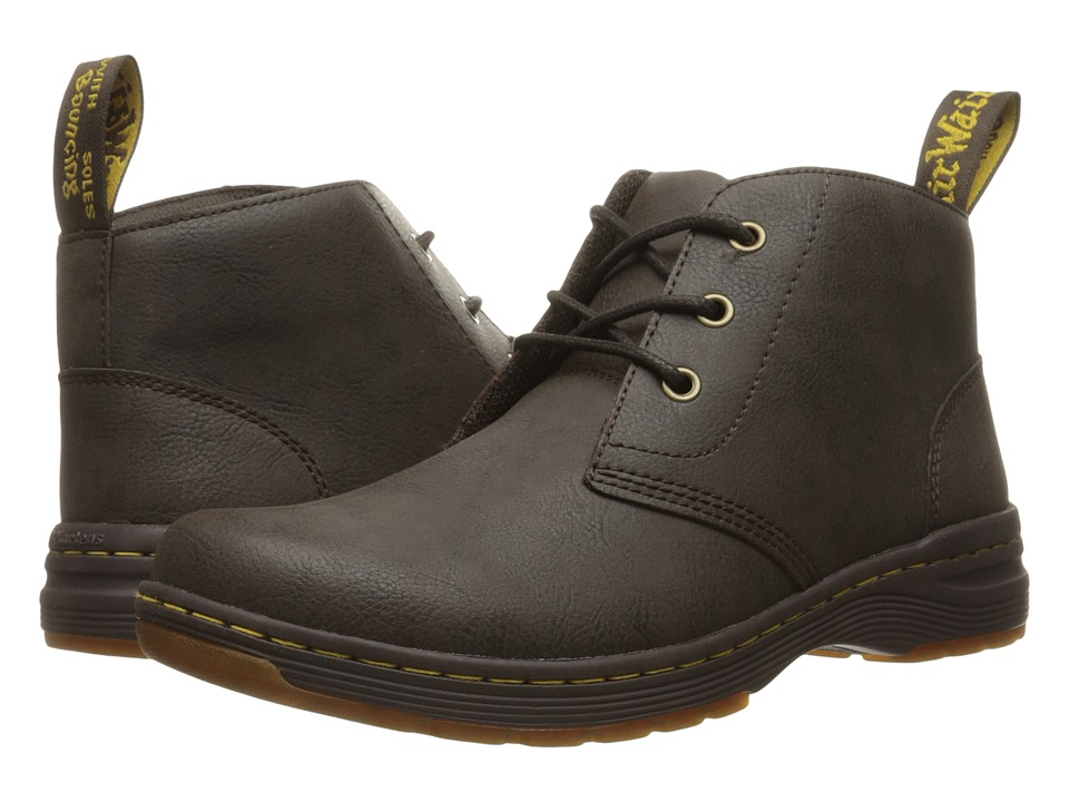 Dr. Martens - Emil 3-Eye Chukka (Brown Vancouver Split) Men's Lace-up Boots