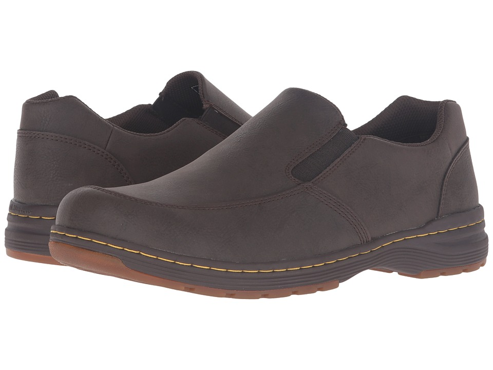 Dr. Martens - Brennan Slip-On Shoe (Brown Vancouver Split) Shoes
