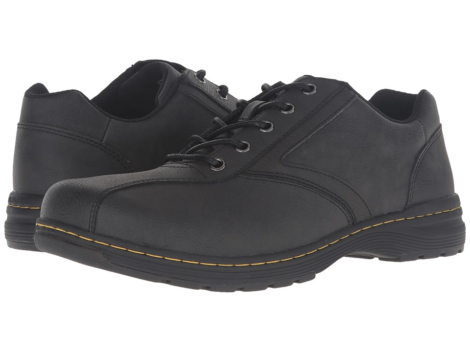 Dr. Martens Greig 5-Eye Shoe (Black Vancouver Split) Lace up casual Shoes