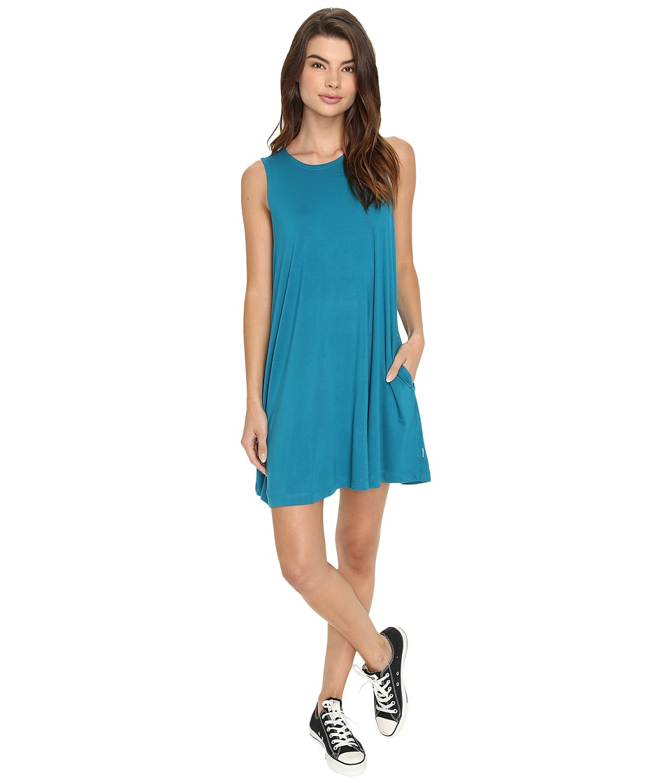 RVCA Sucker Punch 2 Dress (Ocean Depth) Women