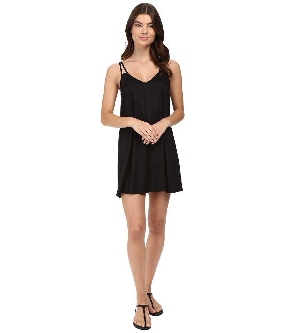 RVCA Sims Dress (Black) Women