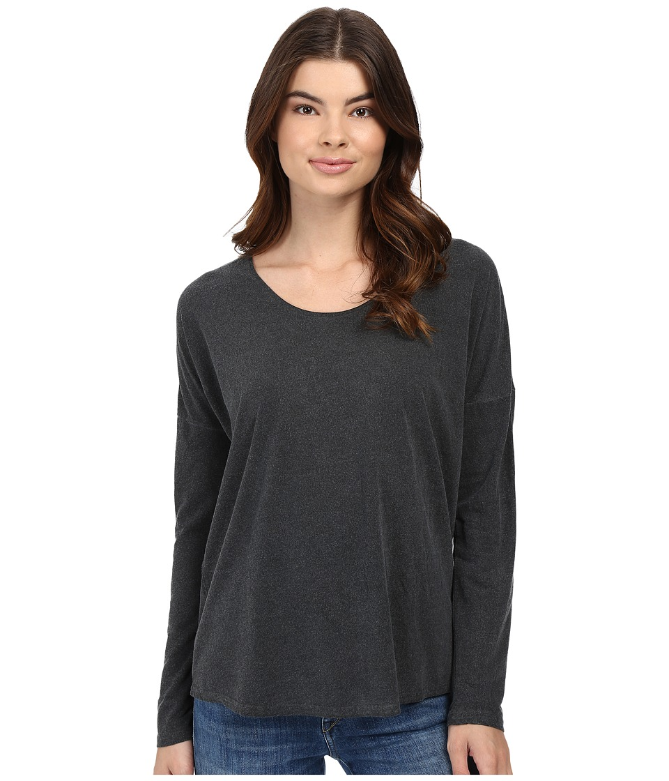 RVCA - Sutherland Long Sleeve Top (Black) Women's Long Sleeve Pullover