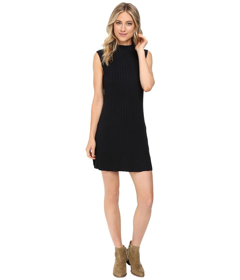 RVCA - Banked Dress (Black) Women's Dress