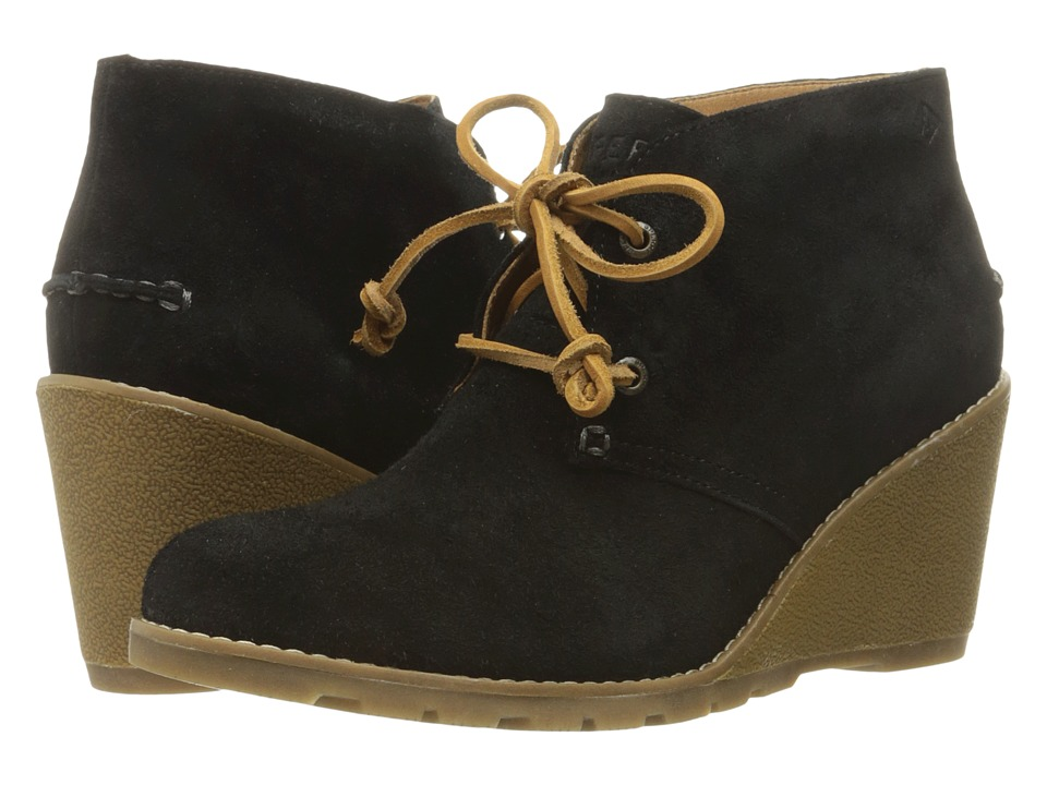 Sperry - Stella Prow (Black) Women's Wedge Shoes
