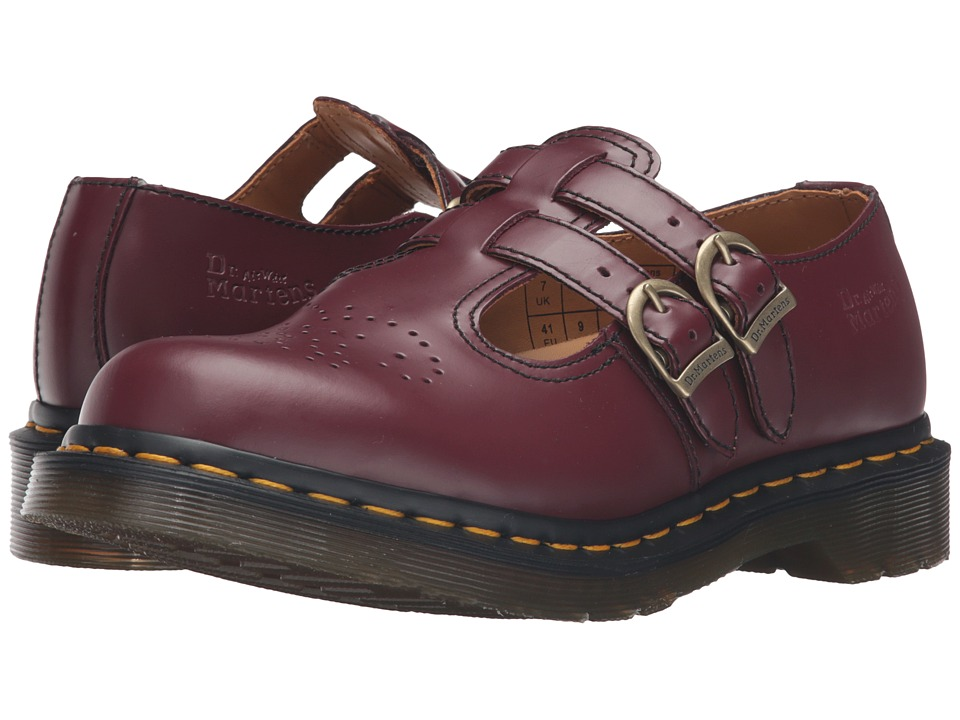 Dr. Martens 8065 (Cherry Red Smooth) Women