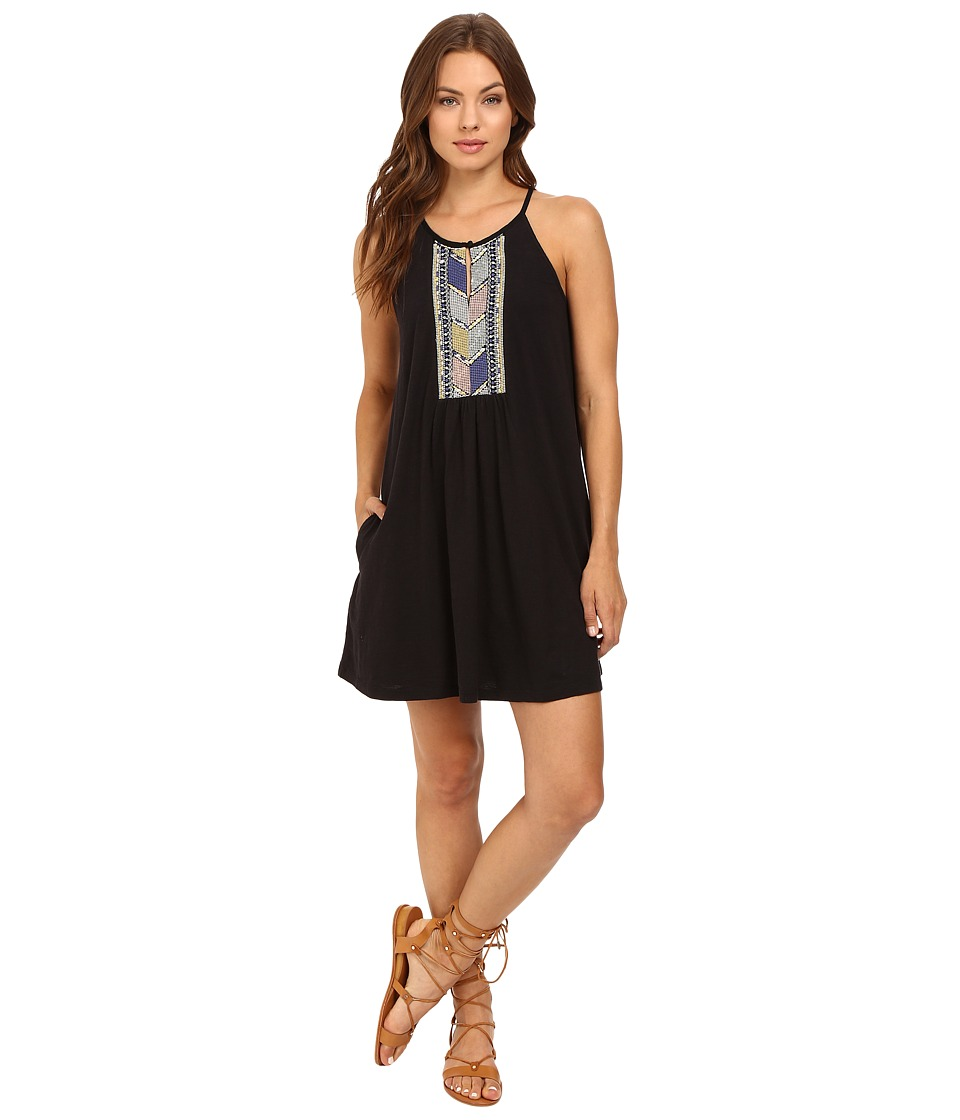 Roxy - Night Was Young Dress (True Black) Women's Dress