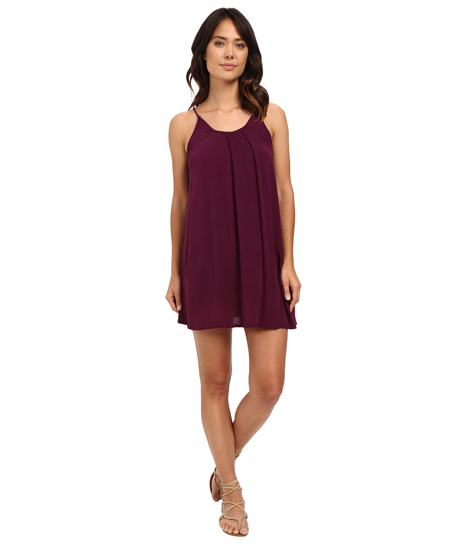 Roxy - Phantom Island Dress (Italian Plum) Women's Dress