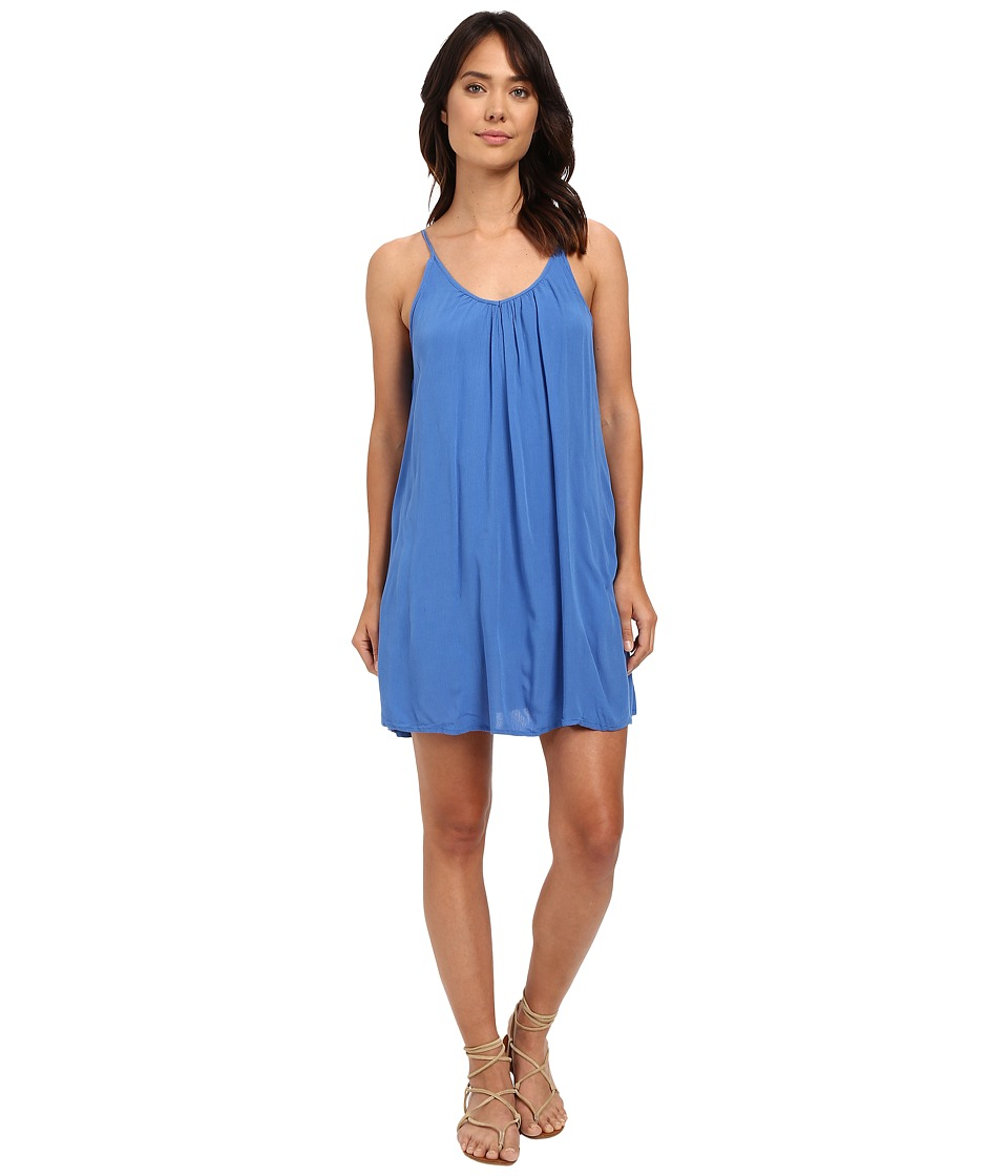 Roxy - Phantom Island Dress (Palace Blue) Women's Dress