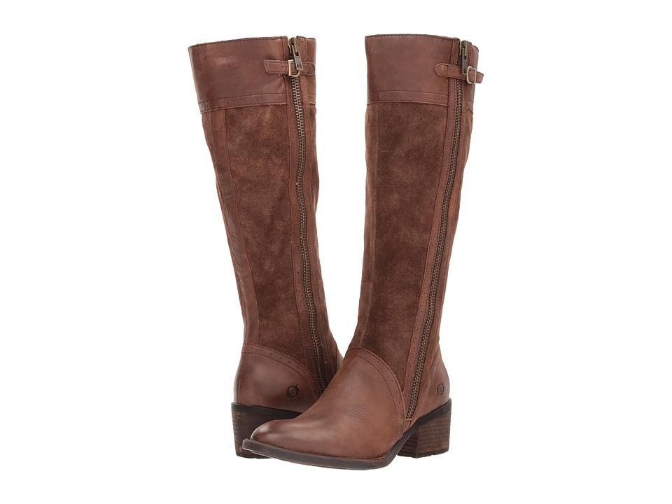 Born - Poly (Ebano/Tasso Combo) Women's Boots