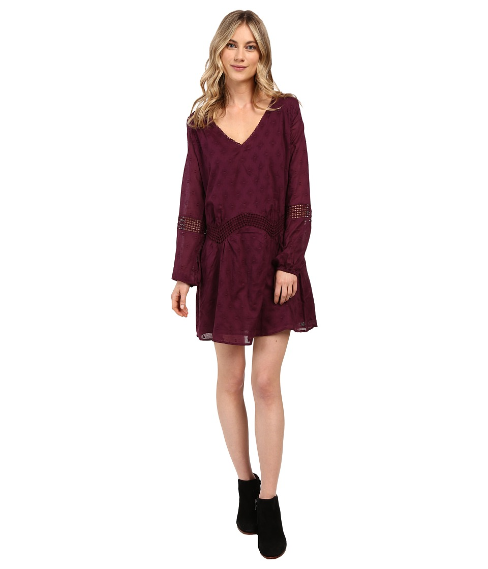 Roxy Cali Stars Dress (Italian Plum) Women