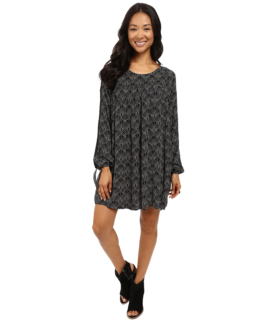 Roxy Definitely Maybe Dress (In the Breeze/True Black) Women