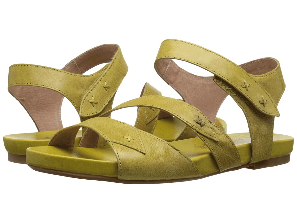 Miz Mooz - Artemis (Yellow) Women's Sandals