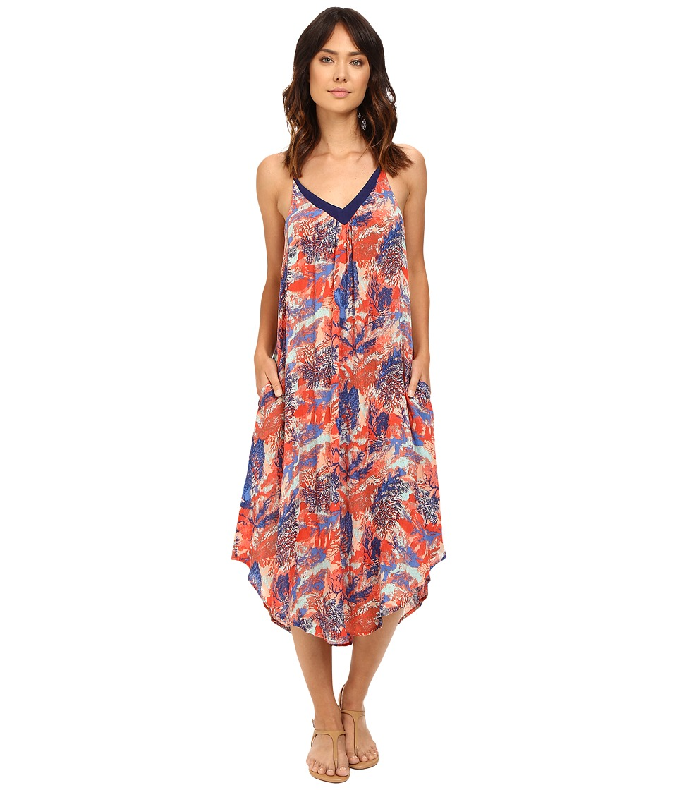 Roxy - Kat Fish Dress (Undersea Peach Nectar) Women's Dress