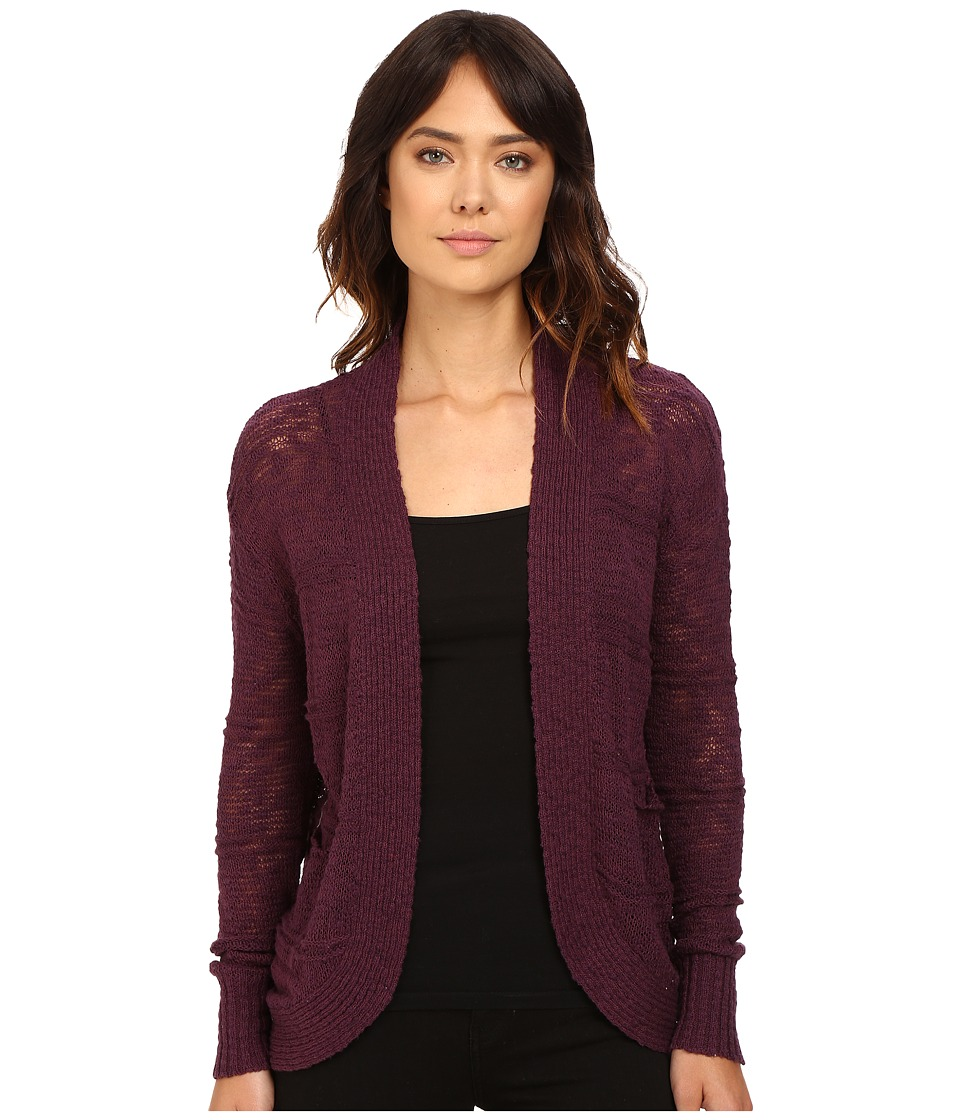 Roxy - Mountain of Love Cardigan (Italian Plum) Women's Sweater