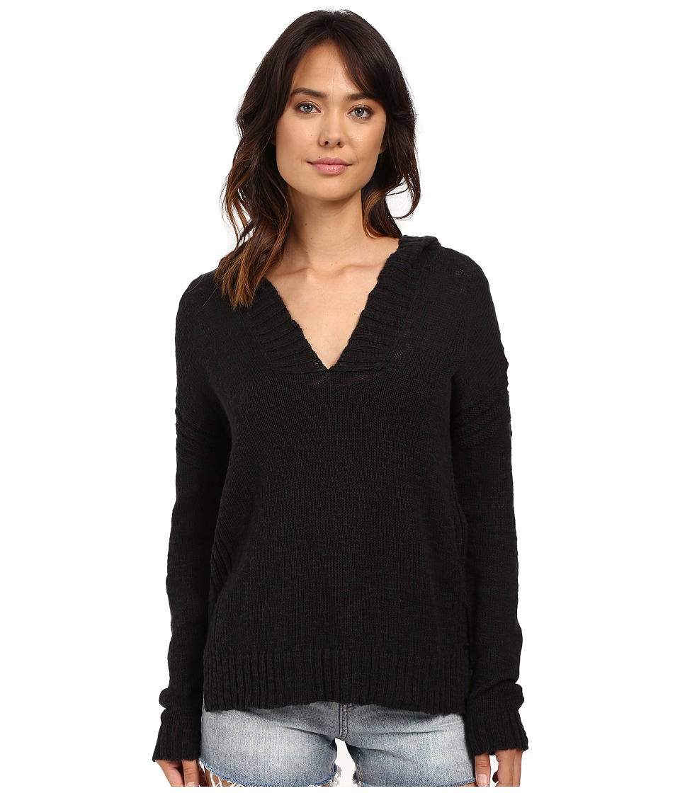 Roxy - All Summer Long Pullover Hoodie (True Black) Women's Sweatshirt