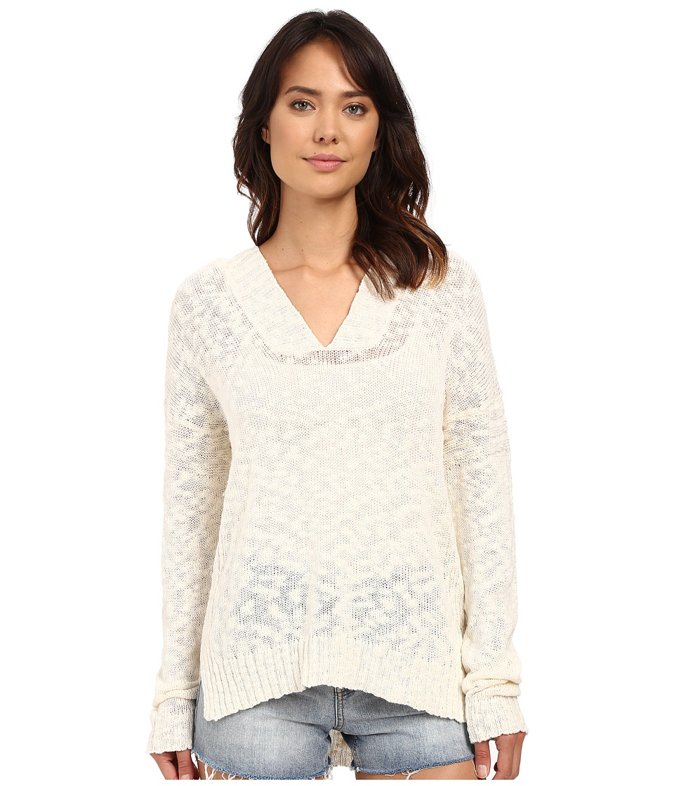 Roxy - All Summer Long Pullover Hoodie (Pristine) Women